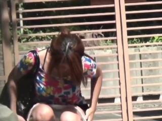 Kinky japanese urinating