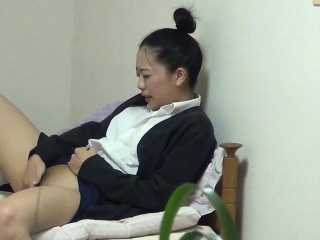 Japanese uniformed teen