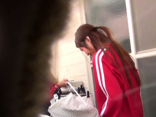Watched asian babe urinates outdoors