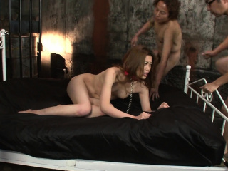 Yui Tachiki is having a blast while sucking and fucking