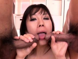Insane DP threesome hardcor - More at Pissjp.com