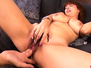 Busty Airu Oshima feels coc- More at Japanesemamas.com
