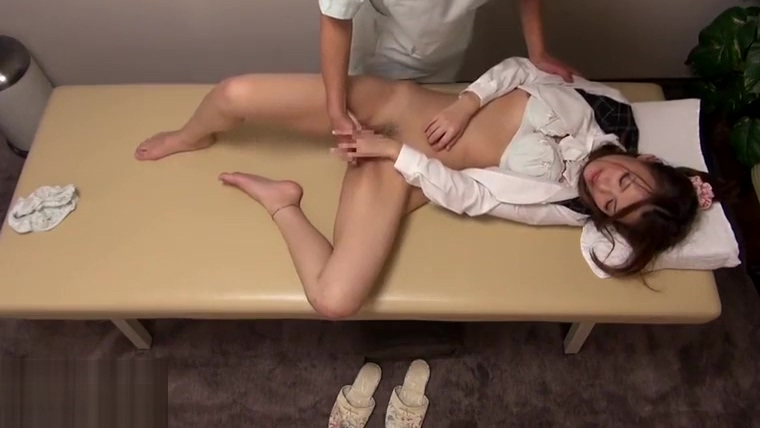 Japanese massage turned in hottest sex