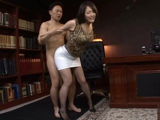 Japanese Office Slut Fucked Hard