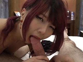 Asian Girl Gets Fucked and Swallows Cum on Vacation
