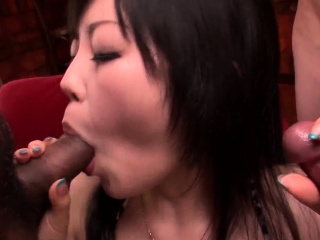 Hikaru Kirameki sensational cock  - More at Slurpjp.com
