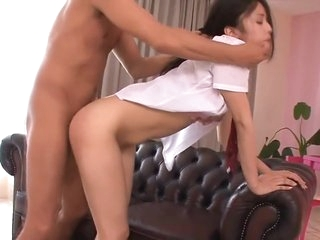 JAV Uncensored - Japanese students play sex with Aunty