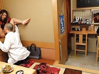Japanese Kyoka Makimura and Sakura Aoi fuck, uncensored