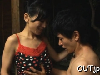 Luscious oriental beauty gets to big orgasm