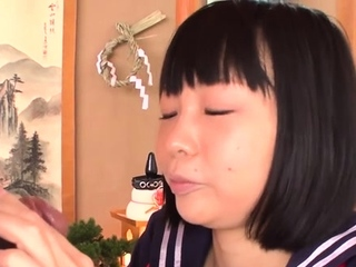 Extraordinary japanese Yuri Sakurai get fucked in mouth