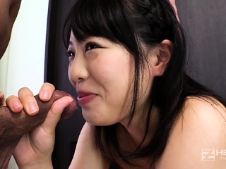 Japanese Anri and Kotomi POV Blowjob