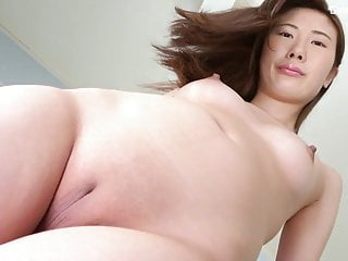 solo Japanese small tits shaved pussy 3