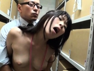 Admirable honey with great tits adores erected love stick
