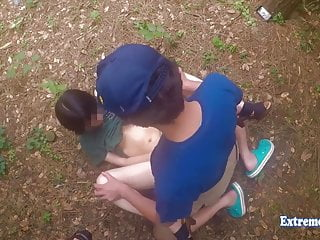 Jav Teen Henada Fucks Uncensored In Public Park, Skinny Girl