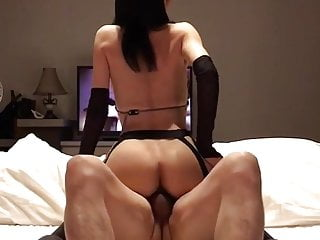 Japanese amateur cowgirl fuck