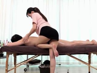 CFNM nurses in uniform make their patent cum