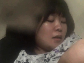 Solo plump japanese babe secretly watched