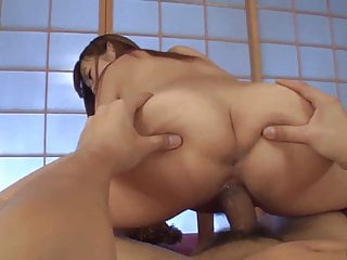 Hitomi Kitagawa sucks and rides whole dick in flawless POV