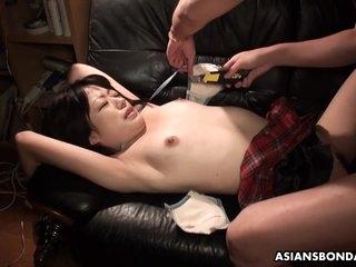 Japanese Prurient Vixen Momo Sakata Bdsm Clip