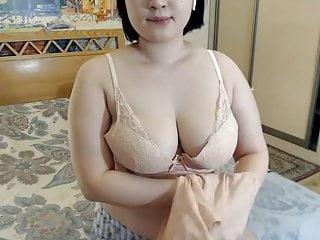 Busty Asian girl