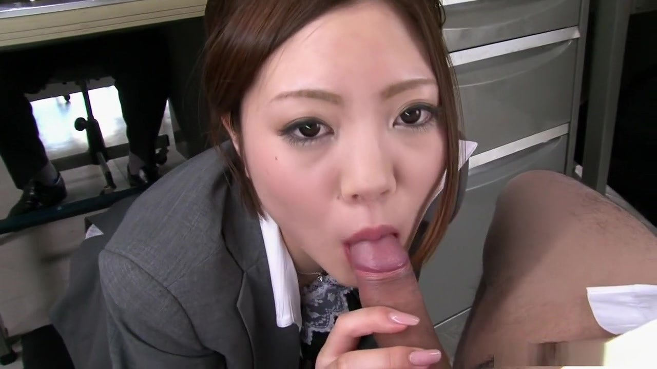 Cute Office Lady Iroha Kawashima Just Hired And Immediately Used Up