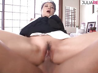 Japanese geisha fucking with her husband