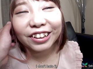Chubby Japanese teen Haruka Fuji in first time video