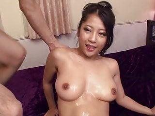 Uncensored Japanese AV fingering and double blowjob Subtitle