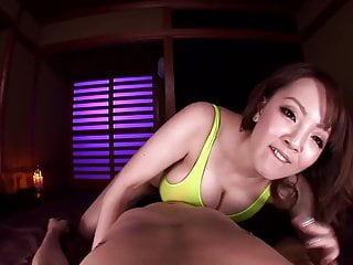 Asian babe with big tits