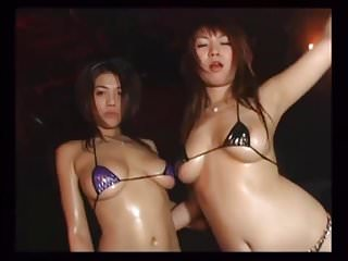 Japanese Micro Bikini Dancers - Mana Suguira & Daiya Mizusaw